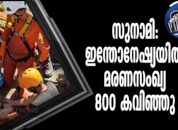 സുനാമി: ഇന്തോനേഷ്യയില് മരണസംഖ്യ 800 കവിഞ്ഞു