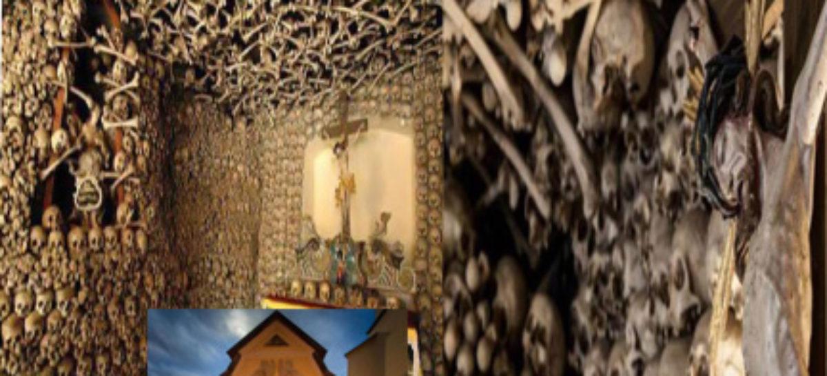 മരിച്ചുപോയ മനുഷ്യരുടെ അസ്ഥികളും തലയോട്ടികളും കൊണ്ട് നിര്മ്മിച്ച ക്രിസ്ത്യൻ പളളി